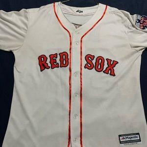 David Ortiz Majestic Baseball Home Jersey